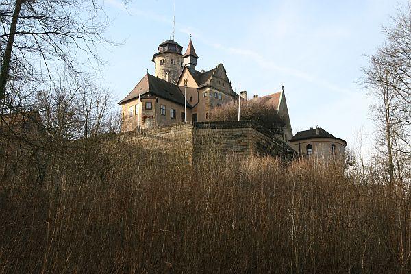 Die Altenburg über Bamberg
