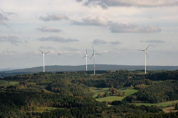 Windräder bei Hohenmirsberg
