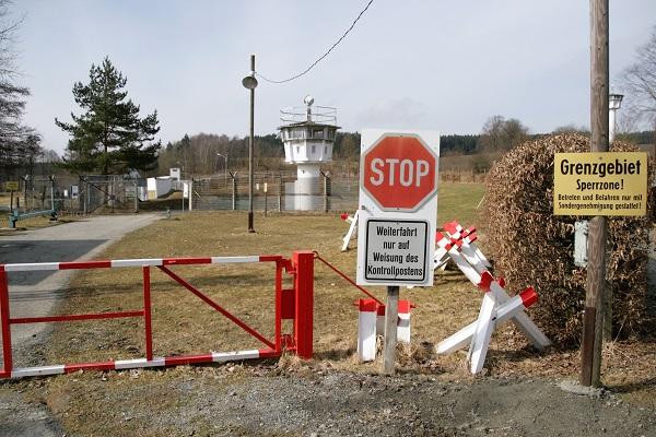 Museum der ehemaligen Grenzanlage der innerdeutschen Grenze in Mödlareuth