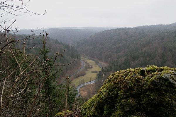 Blick ins Wiesental bei Engelhardsberg in der Fränkischen Schweiz