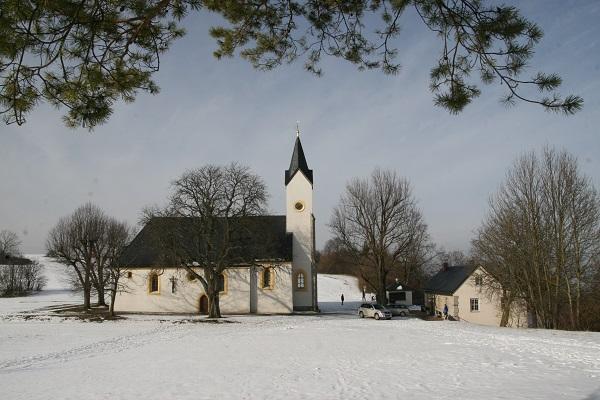 Kirche auf dem Staffelberg in Oberfranken