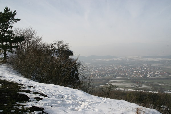 Blick auf Staffelstein - oberes Maintal