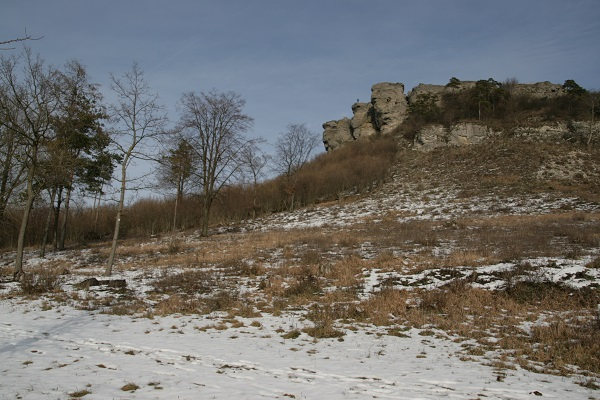 Staffelberg - ehemals keltische Siedlung - im oberen Maintal gelegen