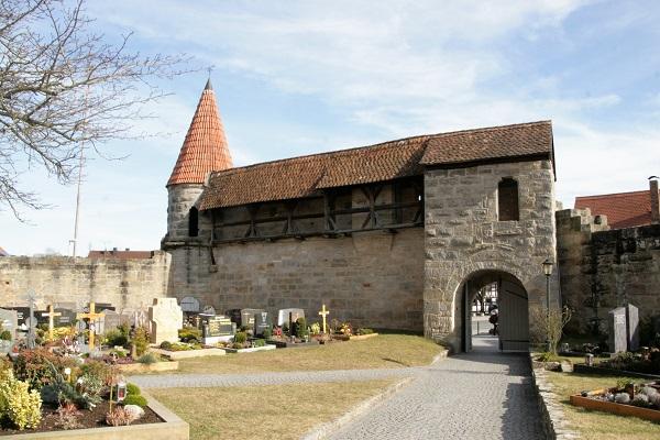 Innenansicht der Wehrkirche von Effeltrich